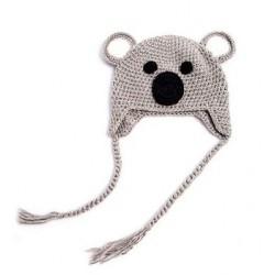 Bonnet koala tricot