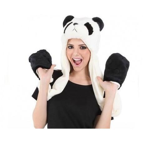 bonnet panda ski