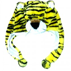 Bonnet tigre jaune