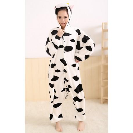 Pyjama Vache Adulte Enfant Homme Femme Grenouillere Vache