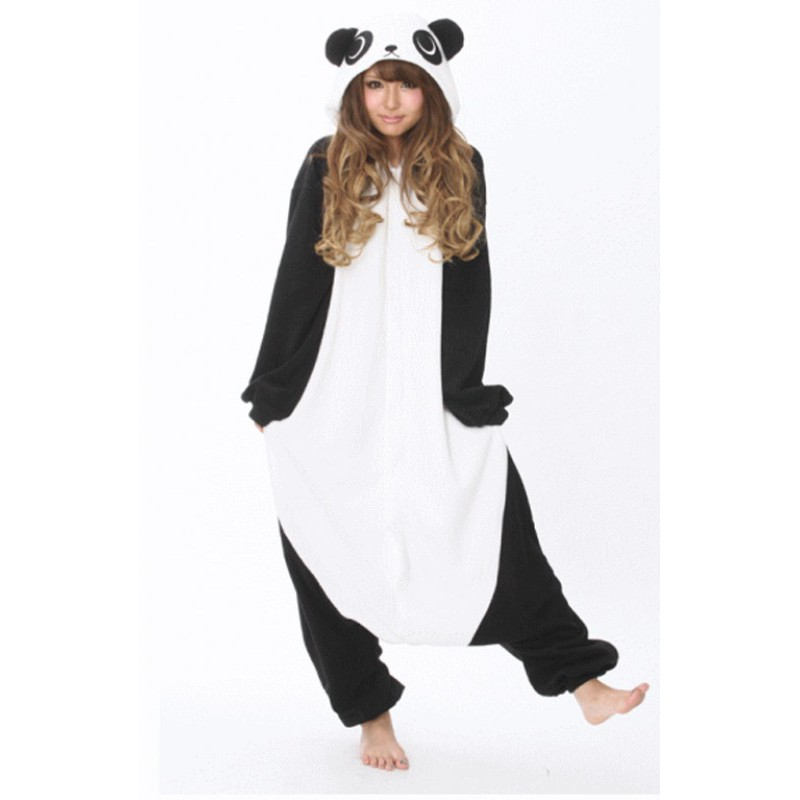 pyjama panda adulte enfant homme femme grenouill re panda. Black Bedroom Furniture Sets. Home Design Ideas