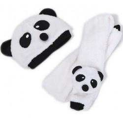 Bonnet panda enfant (+écharpe)