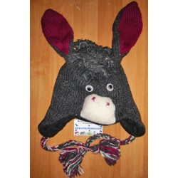 Bonnet d'âne en tricot
