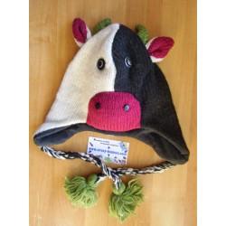 Bonnet vache tricot