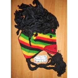 Bonnet singe Rasta en tricot