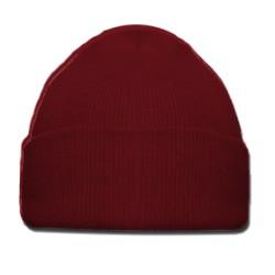 Bonnet rouge foncé