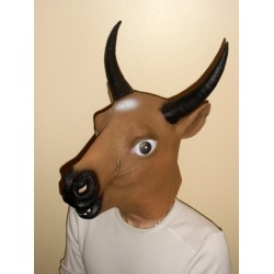 Masque de taureau