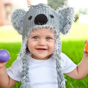 modele tricot bonnet koala