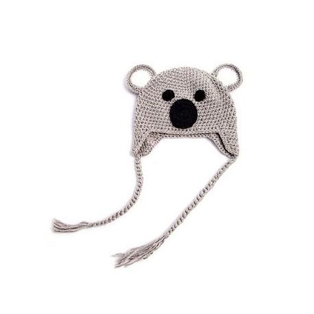 Bonnet Koala en tricot pour enfants 299860caa6d