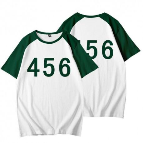 T shirt Squid Game n°456 / n°067 / n°001..