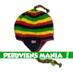 Bonnet péruvien Jamaïcain