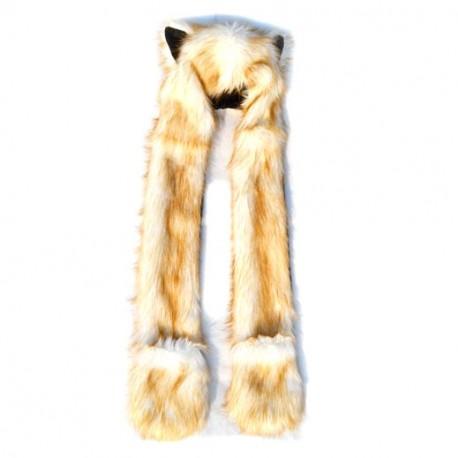 Bonnet fashion loup Gold