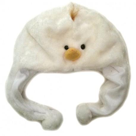 Bonnet poussin blanc