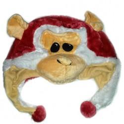 Bonnet singe rouge