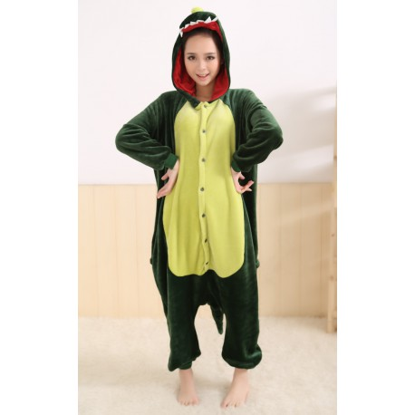 grossiste 85254 8325a Pyjama de dragon (vert) pour Adulte et Enfant : Combinaison intégrale