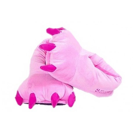 Chaussons Animaux Roses