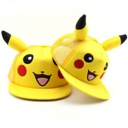 casquette pokemon pikachu