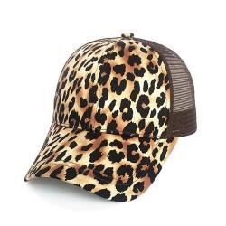 casquette leopard femme