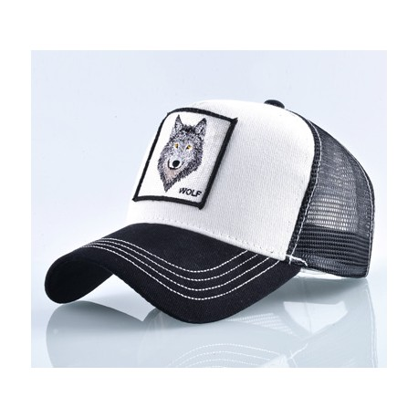 Casquette animaux loup