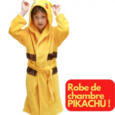 Robe de Chambre Pikachu Enfant