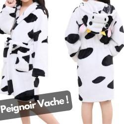 Peignoir Motif Vache