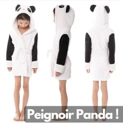 Peignoir Polaire Panda