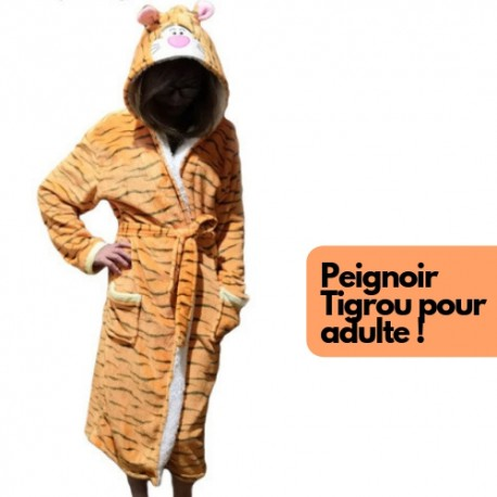 Peignoir Tigrou Adulte