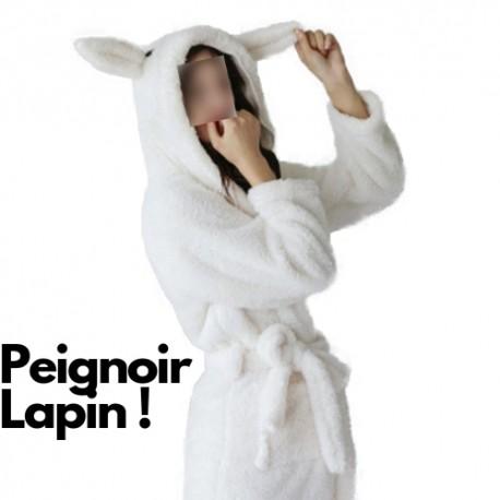 Robe de Chambre Femme Lapin
