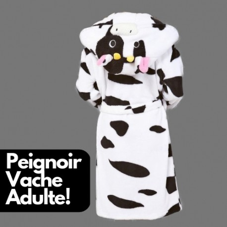 Robe de Chambre Motif Vache