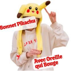 Bonnet Pikachu Oreille qui Bouge