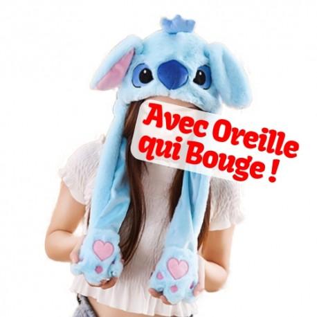 Acheter Bonnet Oreille Qui Bouge Disney Bonnet Stitch Oreille Qui Bouge Pas Cher Adulte Enfant Homme Femme