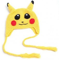 Bonnet Pikachu en tricot