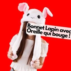 Bonnet Oreille Lapin qui Bouge