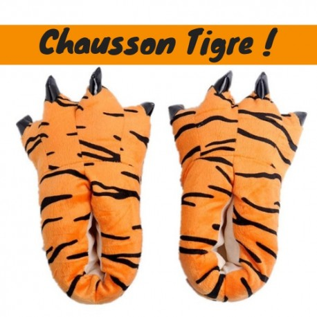 Chaussons Pattes Tigre