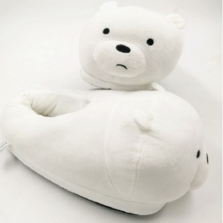 Chausson Peluche Ours