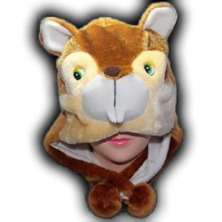 Bonnet d'écureuil (castor)