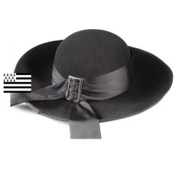 Chapeau rond breton traditionnel