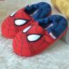 Chausson Spiderman en peluche