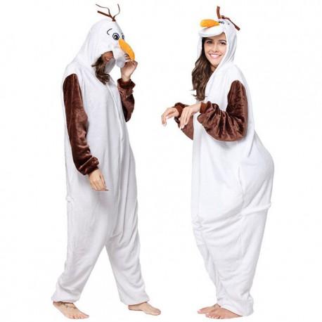 Pyjama Kigurumi Bonhomme de Neige
