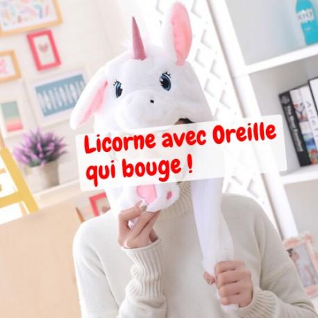 Bonnet Licorne Oreille qui Bouge