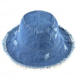 Chapeau en Veste Jean