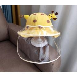 Bob girafe avec visière de protection