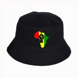 Bob reggae africain rouge jaune vert