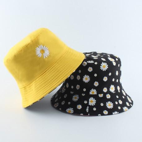 Chapeau bob marguerite