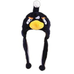 Bonnet Angry Birds noir