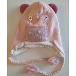 Bonnet cochon en tricot
