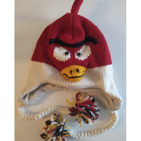 Bonnet Angry Birds tricot