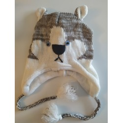 Bonnet loup tricot