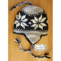 Bonnet péruvien Flocon