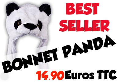 Le bonnet panda : Must have de la collection!
